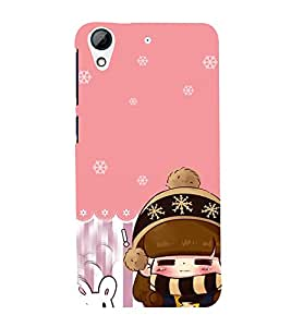 Fuson Premium Back Case Cover Cute baby With black Background Degined For HTC Desire 728g Dual::HTC Desire 728G::HTC Desire 728