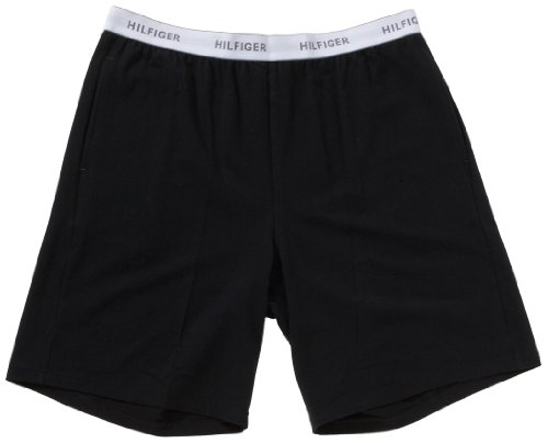 Tommy Hilfiger Mens Jersey Shorts Men's Loungewear Black X Large