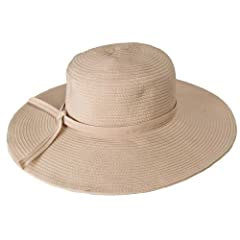 Packable Crushable Travel Hat 4.5 brim NH53 (Natural)