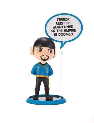 Star Trek Mirror Universe Spock Q-Pop Trekkies Figure
