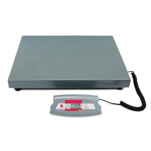Ohaus Steel Sd Economical Shipping Bench Scale, 200Kg X 0.1Kg, 520Mm Length X 400Mm Width Platform front-137243