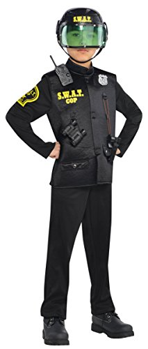 [Children's SWAT Officer Costume Size Large (12-14)] (Swat Costumes Kid)