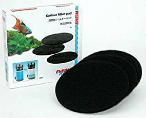 EHEIM Carbon Filter Pad for Classic External Filter 2211 (3 Pieces)