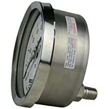 REOTEMP PR Series Heavy Duty Repairable Pressure Gauge