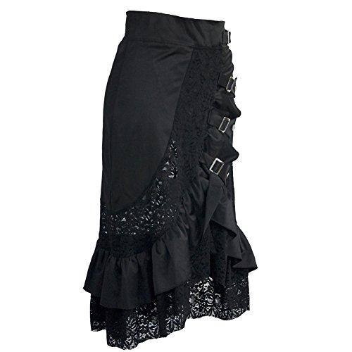 coswe damen kleidung schwarz jahrgang steampunk gotisch. Black Bedroom Furniture Sets. Home Design Ideas