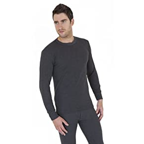 Mens Thermal Underwear Long Sleeve T Shirt Top (British Made)