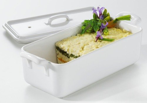 Revol 614862 Belle Cuisine 21.25 Ounce (0.5 Quart) Terrine With Lid
