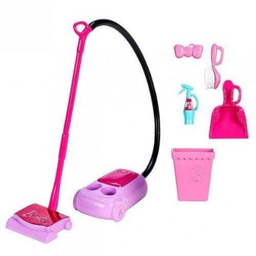 Barbie accessori per la casa set casa pulizia aspirapolvere for Accessori per la casa