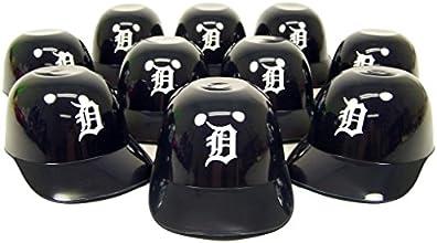 Detroit Tigers Official MLB 8oz Mini Baseball Helmet Ice Cream Snack Bowls 10