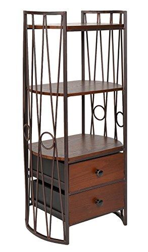 ts-ideen-mobiletto-scaffale-stile-anticato-in-metallo-marrone-e-legno-color-noce