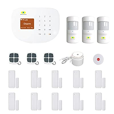Golden Security touch screen keypad Wireless Network & GSM 2-in-1 Home Security System auto dialer diy kits S2W