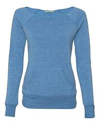 Alternative Ladies\' Maniac Sweatshirt - ECO ROYAL - XL