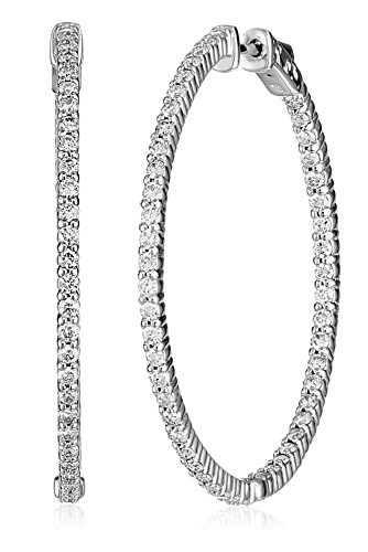 KC-Designs-Eternity-Hoops-14k-White-Gold-Diamond-Hoop-Earrings-255-cttw