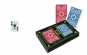 KEM Arrow Playing Cards: 2 Deck Set Red and Blue, Jumbo Index