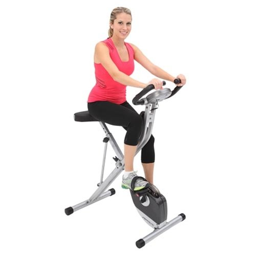 Exerpeutic 250XL Folding Upright Bike With Pulse