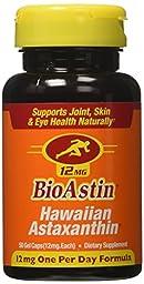 Nutrex Hawaii Bioastin Hawaiin Astaxanthin - 12 Mg - 100 Gel Caps Pack