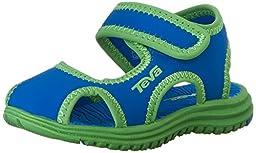 Teva Tidepool CT Water Sandal (Toddler/Little Kid), Blue/Green, 6 M US Toddler