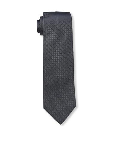 Givenchy Men's Squares Tie, Dark Grey