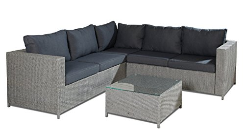 Hochwertige-Polyrattan-Lounge-3-tlg-inkl-Kissen-Gestell-aus-Stahl-Rattan-Luxus-Gartenset-Gartenmbel-Loungeset-Sitzgruppe-Loungembel-Sitzgruppe-Gartenset-Sitzgarnitur-Sofalounge-Garnitur-Grau