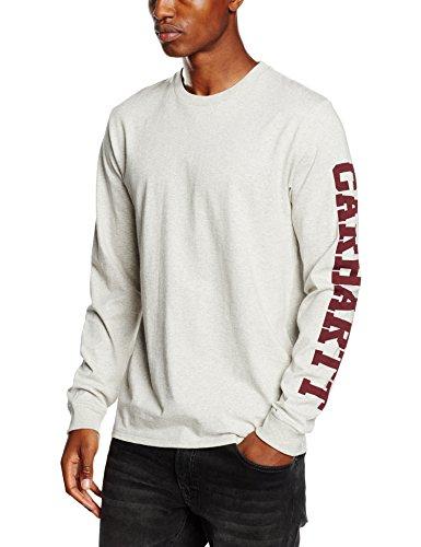 carhartt-l-s-college-left-t-shirt-maglietta-da-uomo-colore-snow-heather-taglia-xl