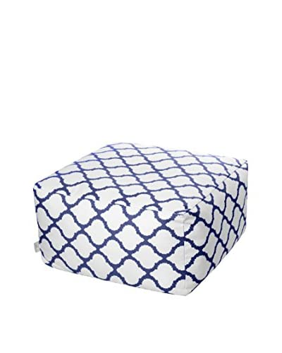 Glam Home Puff Soraya Blanco / Azul