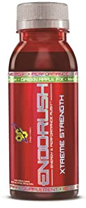 BSN Endorush XS, Green Apple, 8-Ounce (Pack of 12) by BSN