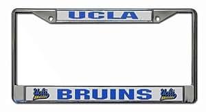 NCAA UCLA Bruins Chrome License Plate Frame
