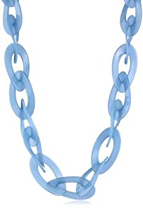 Kenneth Jay Lane Turquoise Link Necklace