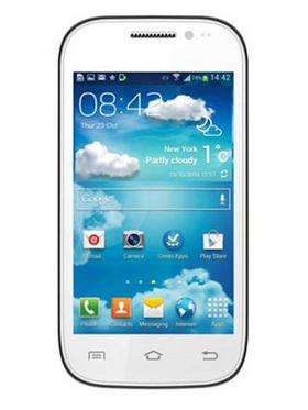 Vox Kick K4(Android Kitkat Smartphone) - White