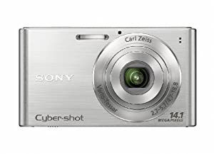 Sony DSCW320S Cyber-shot Digital Camera  - Silver (14.1 MP, 4x Optical Zoom) 2.7 inch LCD