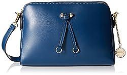 Gussaci Italy Women's  Handbag (Blue) (GC621)