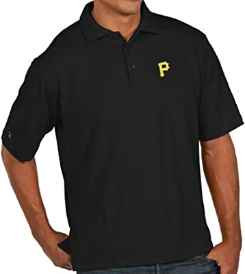 Antigua Pittsburgh Pirates Men's Xtra Lite Polo