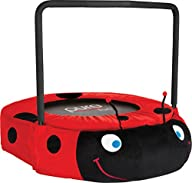 Pure Fun Ladybug Jumper Trampoline, Red