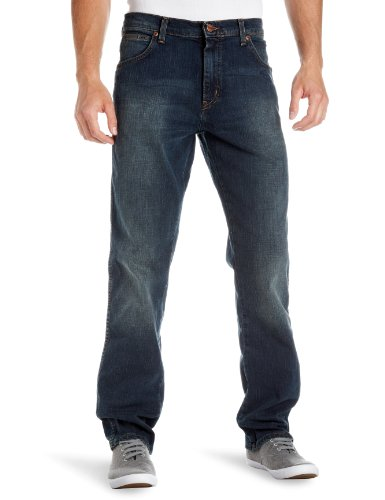 Wrangler Texas Stretch Straight Men's Jeans Vintage Tint W42in x L32in