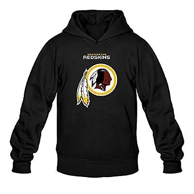 Men Washington Redskins Critical Victory Logo Hoodie