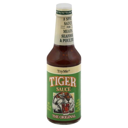 Try Me Tiger Sauce 10 OZ (Pack of 6) (Tiger Sauce 10 Oz compare prices)