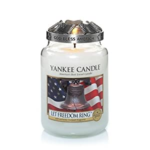 Let Freedom Ring Large Jar Candle - Yankee Candle
