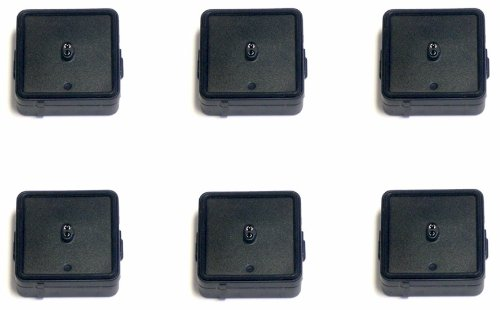 High Tech Pet Humane Contain Electronic Fence Collar Battery B3V8, 6-Pack