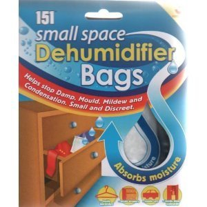 Small space dehumidifier bags (3 pack) by 151 (Dehumidifier For Drawers compare prices)