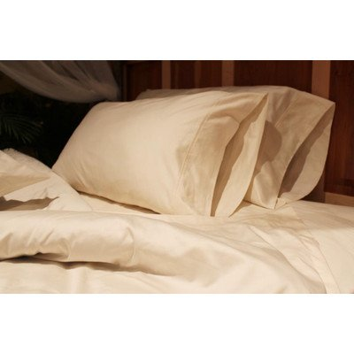 Organic 300 Thread Count Pillow Case Size: King front-410223