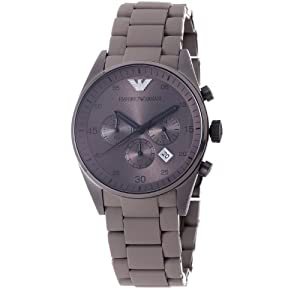 Emporio Armani Men's AR5950 Brown Chronograph Dial Watch