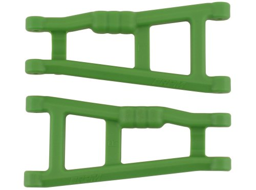 RPM Rear A-arms for the Electric 2WD Stampede, Rustler, and Monster Jam, Green (Rpm Rustler Parts compare prices)