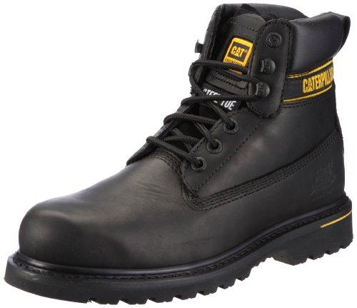 CaterpillarHolton Steel Toe S3 - Stivali uomo, Nero (Schwarz/BLACK), 44