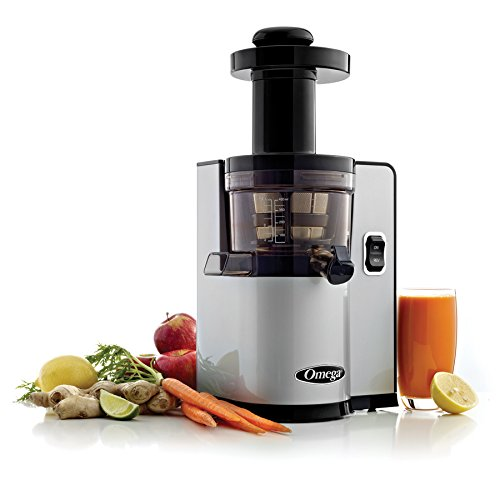 Omega Vert Slow Juicer Vsj843qs : Omega vERT Slow Juicer vSJ843QS, Square version, Silver Home Garden Kitchen Dining Kitchen ...