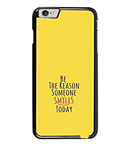 PrintDhaba Quote D-1130 Back Case Cover for APPLE IPHONE 6 (Multi-Coloured)