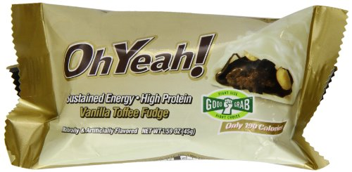 ISS Oh Yeah! Protein Bar 45g, Vanilla Caramel