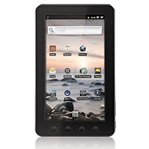 Coby Kyros 7-InchAndroid 2.3 4 GB Internet Touchscreen Tablet - MID7012-4G (Black)