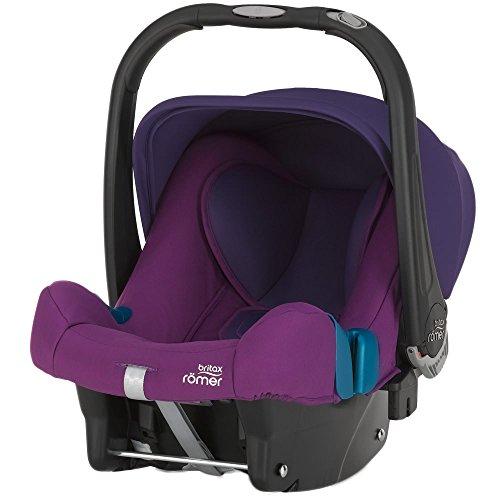 Britax-Romer 2000023253 Baby-Safe Plus Shr II Seggiolino Auto, Mineral Purple