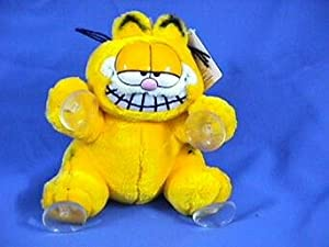 Plush Garfield Suction Cup with Movable Head