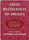 img - for Great restaurants of America book / textbook / text book